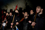 Фотогалерия: Хиляди протестираха срещу новите мерки за икономии в Гърция