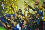 Фотогалерия: Коронясването на Франция със световната титла в Москва