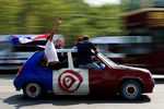 Фотогалерия: Празниците в Париж след световната титла на Франция