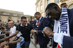 Фотогалерия: Емоционалното посрещане на световните шампиони от Франция