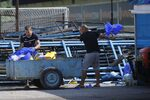 "Снимка на деня: ""Левски"" тренира под полицейска охрана"