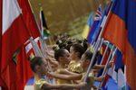 Фотогалерия: Откриването на световното първенство по художествена гимнастика
