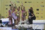 Фотогалерия: Златният ансамбъл и първата титла за България от световното по гимнастика