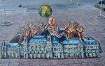 Фотогалерия: Волейболът като вдъхновение за улично изкуство в Русе