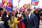 Фотогалерия: Пхенян посрещна президент на Южна Корея за пръв път от 11 г.
