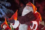 Снимка на деня: Дядо Коледа потегли от Лапландия да разнася подаръци по света