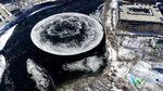 Снимка на деня: Огромен леден кръг в реката