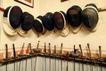 Фотогалерия: Най-старият фехтовален клуб в Париж