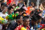 Фотогалерия: Най-мократа битка в света