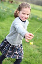 Снимка на деня: Принцеса Шарлът на четири години