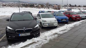 Фотогалерия: Претендентите за титлата автомобил на годината в България