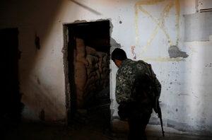"""Фотогалерия: Бункерът на """"Ислямска държава"""""""