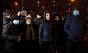 Снимка на деня: Протест срещу мръсния въздух в София