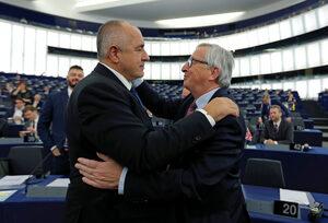 Снимка на деня: Приятелство по европейски
