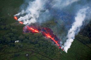 Фотогалерия: Килауеа - лава, пепел и страх