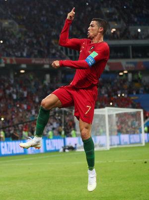Снимка на деня: Роналдо и неговият най-добър ден на световни финали