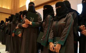 Снимка на деня: Първите пътни инспекторки на Саудитска Арабия