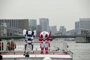 Снимка на деня: Талисманите за Токио 2020 бяха показани за пръв път
