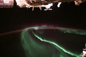 Снимка на деня: Северното сияние от Международната космическа станция