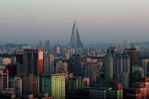 Снимка на деня: Коя е най-високата сграда в Северна Корея