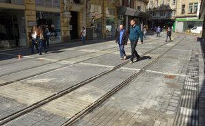 """Фотогалерия: Първите видими резултати от ремонта на улица """"Граф Игнатиев"""""""