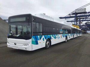 От днес 20 електробуса се движат по 2 линии в София