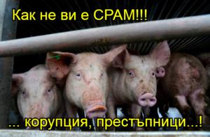 Как не ви е СРАМ!!!   ... корупция, престъпници...!