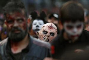 Фотогалерия: Маршът на зомбитата