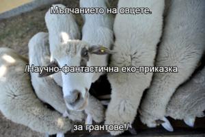 Мълчанието на овцете. /Научно-фантастична еко-приказка за грантове!/