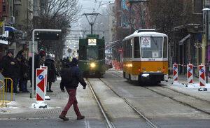Снимка на деня: Трамваи на Графа