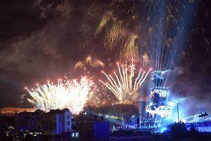 С кукери, светлинно шоу и заря Пловдив стана Европейска столица на културата