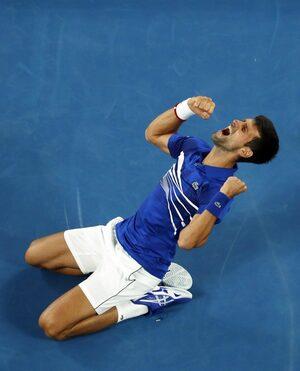 Фотогалерия: Тенис от друго измерение, или как Джокович покори Australian Open