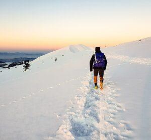 """Снимка на деня: Първи стъпки към зимното приключение """"Ком - Емине"""" на Божидар Антонов"""