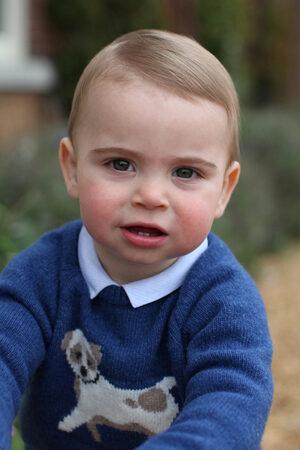 Снимка на деня: Принц Луи на една година