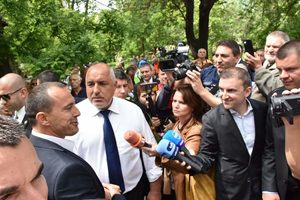 """Борисов обеща на пловдивчани, че парк """"Кършияка"""" ще остане зелен"""