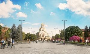 """Проектът за ремонта на площад """"Св. Александър Невски"""" тепърва ще се променя"""