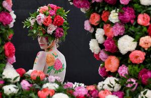 Фотогалерия: Цветната феерия на изложението в Челси
