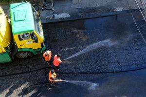 Парите за миене на улици няма да се увеличават до 2025 г.