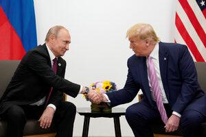 Снимка на деня: Путин и Тръмп