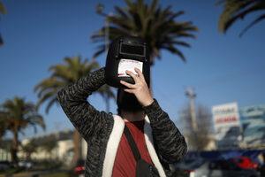 Снимка на деня: Слънчево затъмнение в Чили и Аржентина