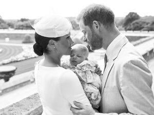 Синът на принц Хари и херцогинята на Съсекс Меган бе кръстен днес