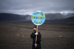 """Снимка на деня: Първата """"смърт"""" на ледник в Исландия"""