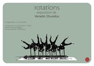Преди фигурата на мястото на мавзолея Венелин Шурелов открива изложба в Париж