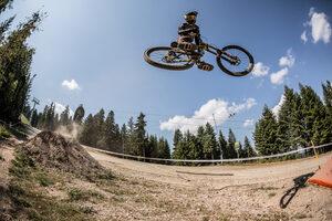 Фотогалерия: С колело на скорост по склоновете на Боровец