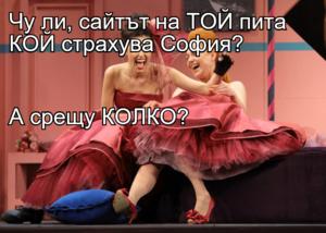Чу ли, сайтът на ТОЙ пита КОЙ страхува София? А срещу КОЛКО?