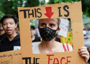 Фотогалерия: Глобалната климатична стачка