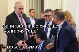 """Запитвал ли се си защо в България """"съд""""  е мръсна дума?"""
