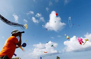 Фотогалерия: Фестивал на хвърчилата в Малта