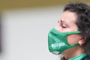 Снимка на деня: Олимпийската сълза на България