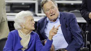 Джордж Буш-старши е приет в болница